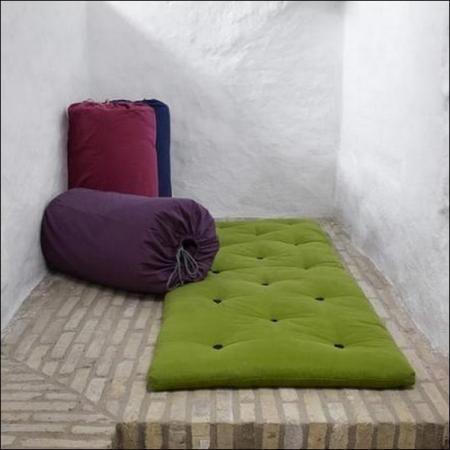 futon 1 place pliable - cuisine idconcept