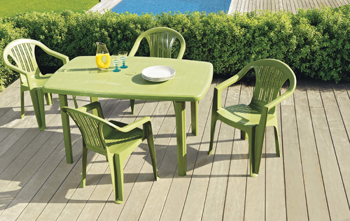 Table de jardin leclerc - cuisine idconcept