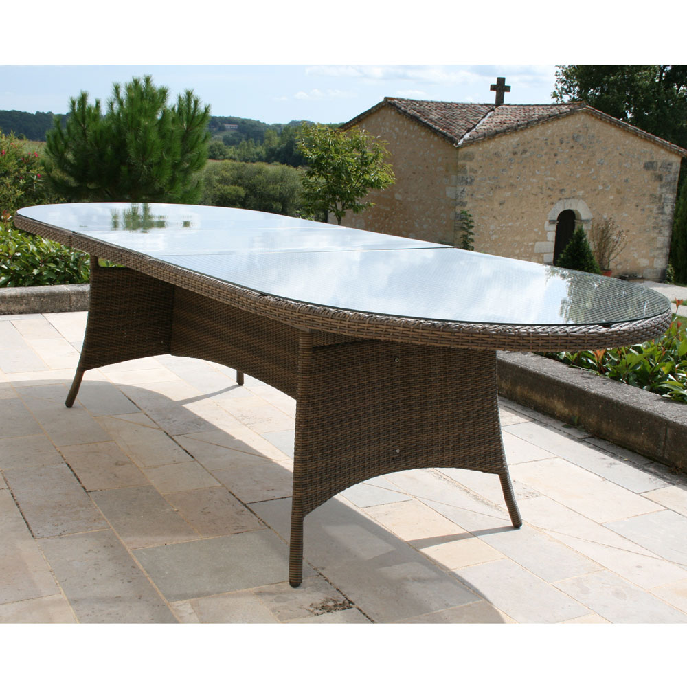 Stunning Table De Jardin Extensible Resine Ideas - House Interior ...