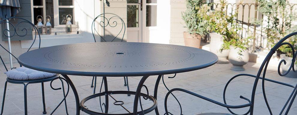 Beautiful Table De Jardin Ronde Castorama Pictures - House Design ...