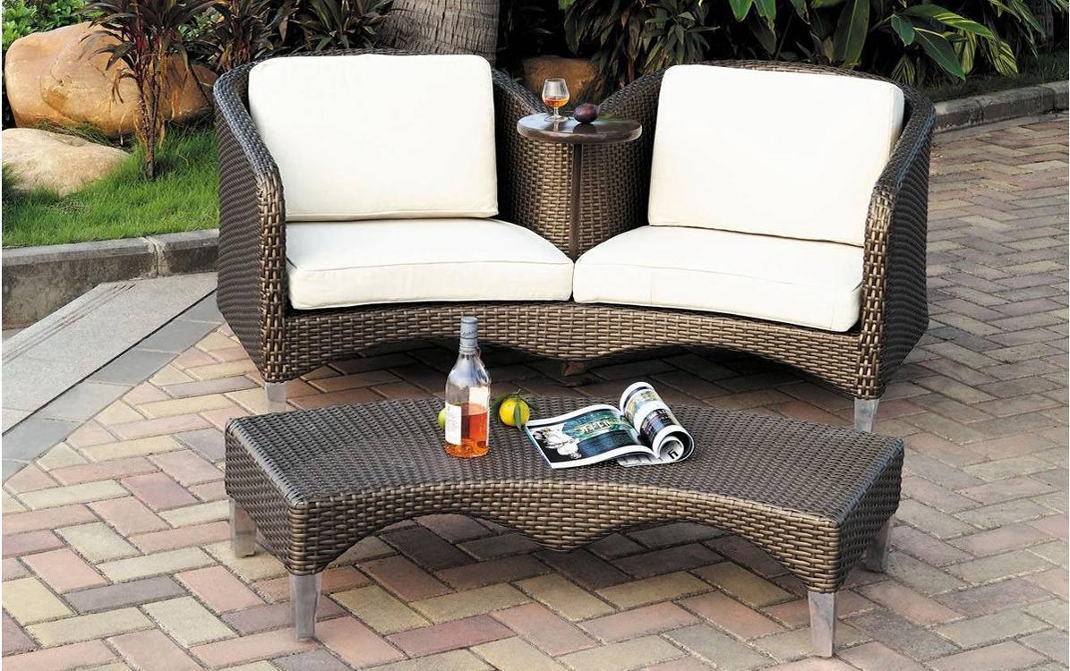 banquette jardin. Black Bedroom Furniture Sets. Home Design Ideas