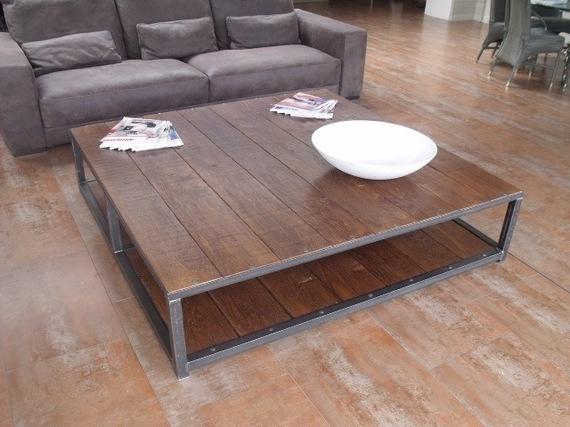 table basse grande taille cuisine idconcept. Black Bedroom Furniture Sets. Home Design Ideas