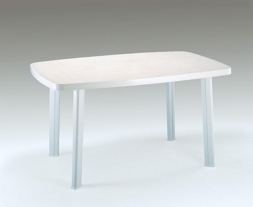 Table de salon de jardin plastique - cuisine idconcept