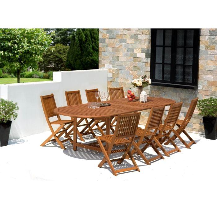 Chaise de jardin en bois pas cher - cuisine idconcept