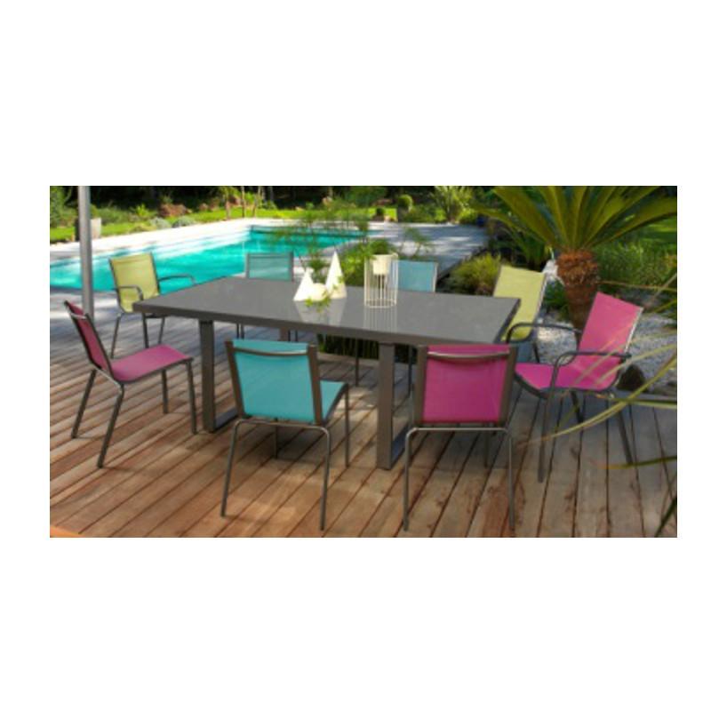 Table De Jardin Avec Chaise Unique Table De Jardin Avec Rallonge New ...