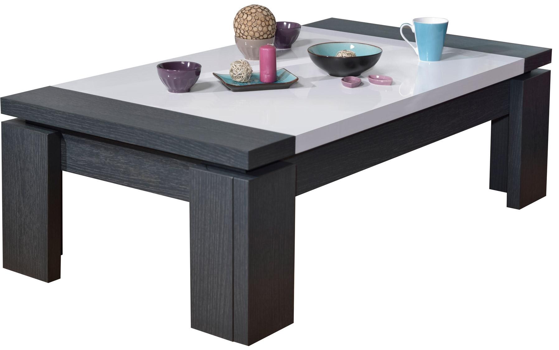 Table De Salon Blanche Et Grise Cuisine Idconcept