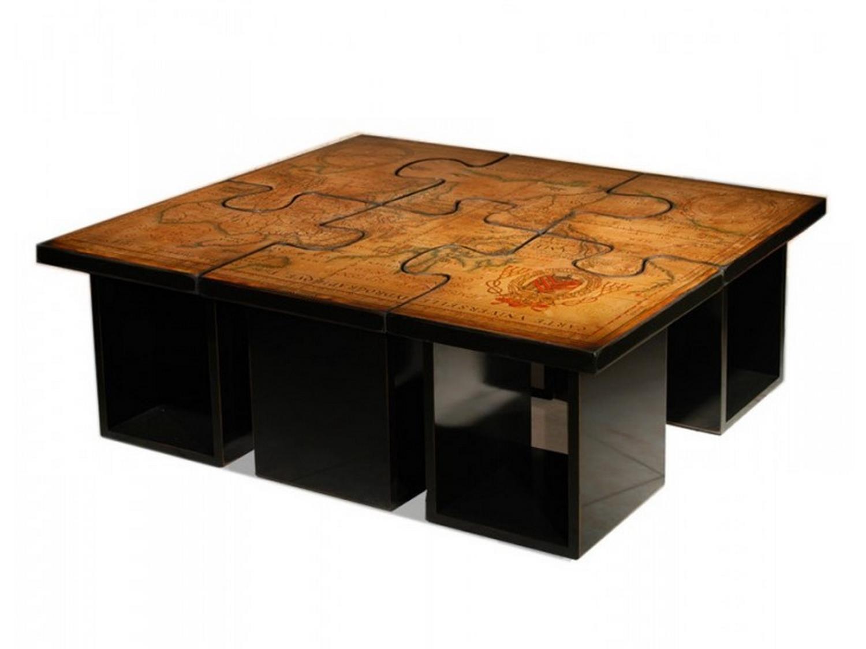 Table de salon originale cuisine idconcept Table de cuisine originale