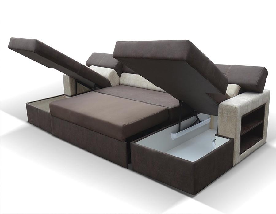 fbaf85ce58c56 Voici la sélection de canapé lit plusieurs places pour vous     . Canape  convertible avec meridienne