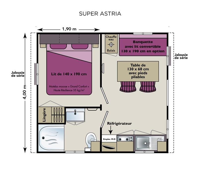 plan suite parentale avec salle de bain et dressing. Black Bedroom Furniture Sets. Home Design Ideas