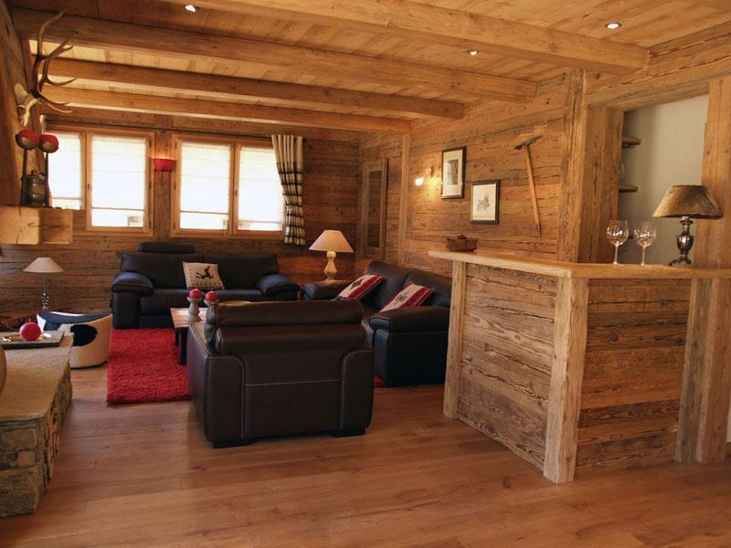 deco bois chalet cuisine idconcept. Black Bedroom Furniture Sets. Home Design Ideas
