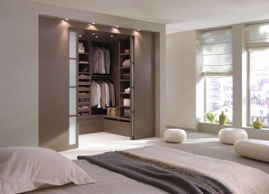 Plan chambre avec salle de bain et dressing - cuisine idconcept