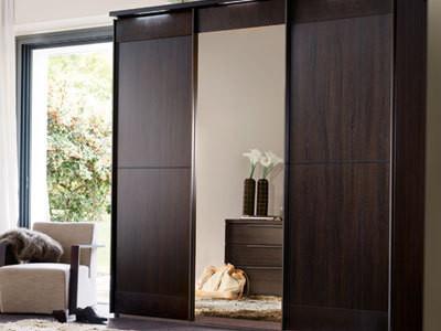 Grande armoire de rangement pour chambre - cuisine idconcept