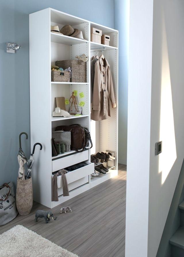 meuble penderie porte coulissante cuisine idconcept. Black Bedroom Furniture Sets. Home Design Ideas