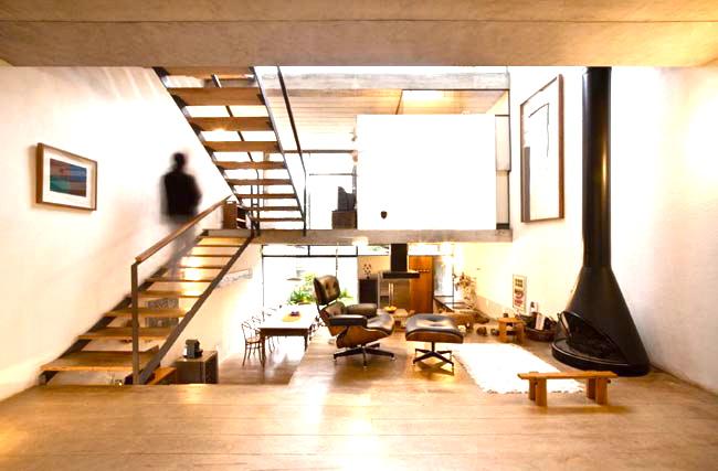 Maison en bois deco interieur cuisine idconcept - Id maison bois ...