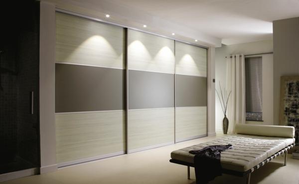 Chambre avec armoire dressing cuisine idconcept - Portes coulissantes dressing ...