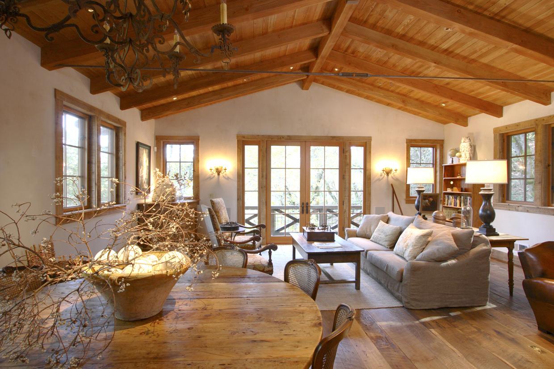 Decoration en bois interieur   cuisine idconcept